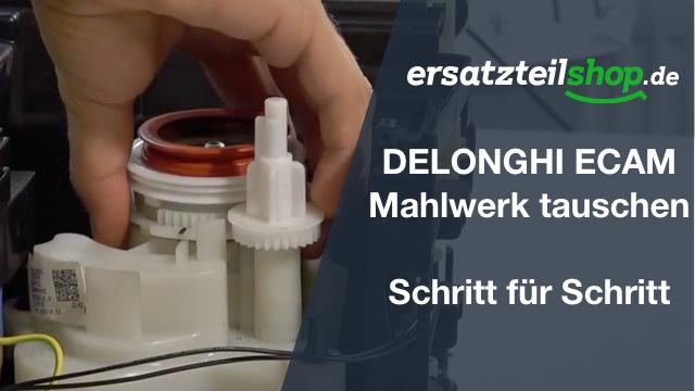 DeLonghi ECAM Mahlwerk - ausbauen - ersetzen - tauschen - einbauen