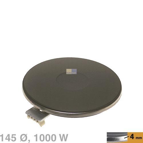 Kochplatte 145mmØ 1000W 230V, AT! Bauknecht, Whirlpool, Ikea, Bosch, Siemens, Ne