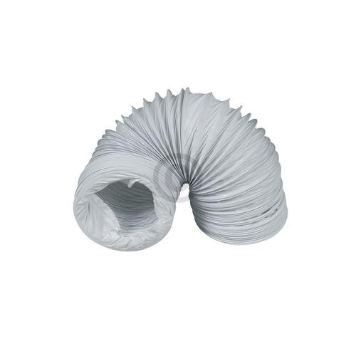 Abluftschlauch 100er Rundsystem 2,80m PVC weiß für Trockner