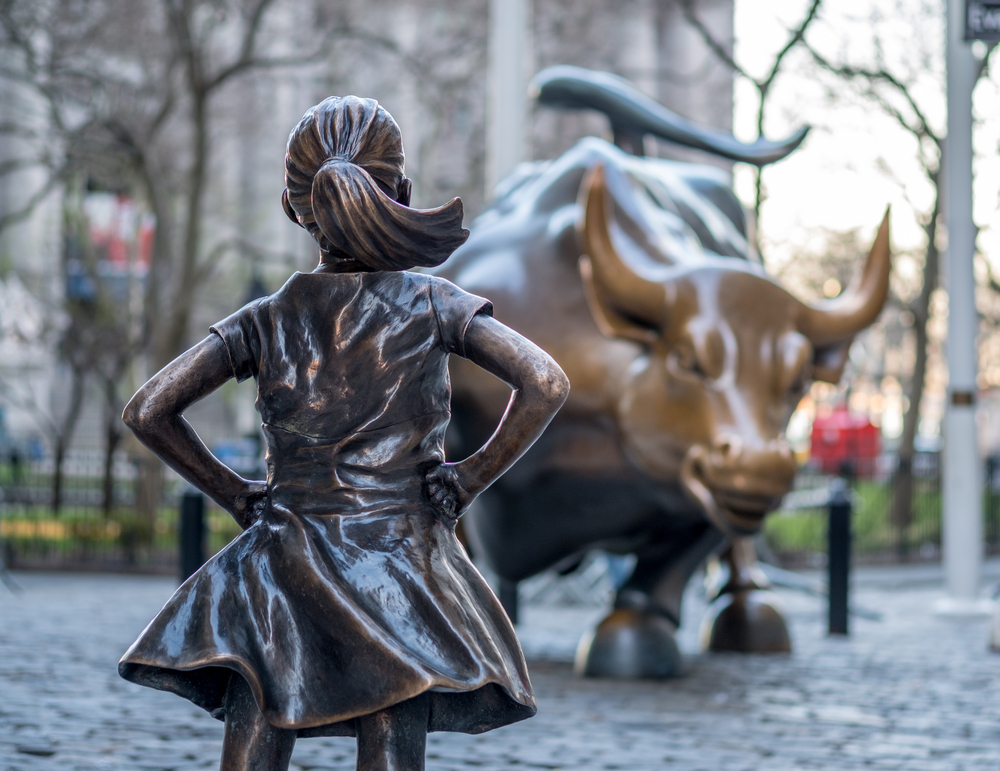 Bronze Spokesgirl Reminds Us to Be Fearless