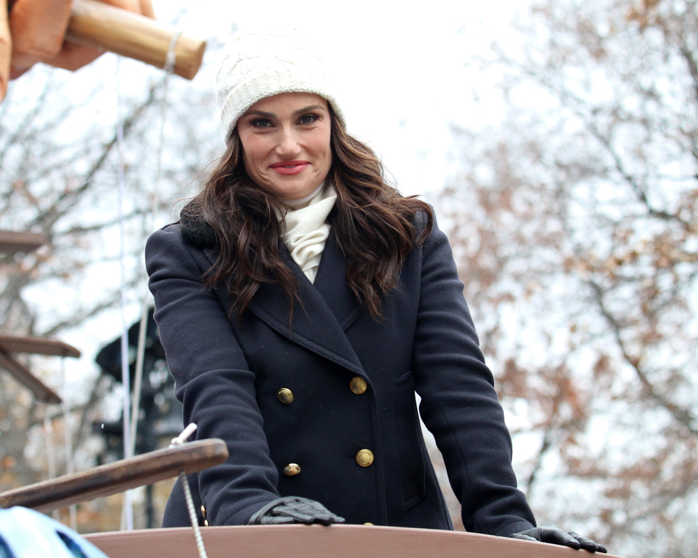 Idina Menzel: Happy and Confident
