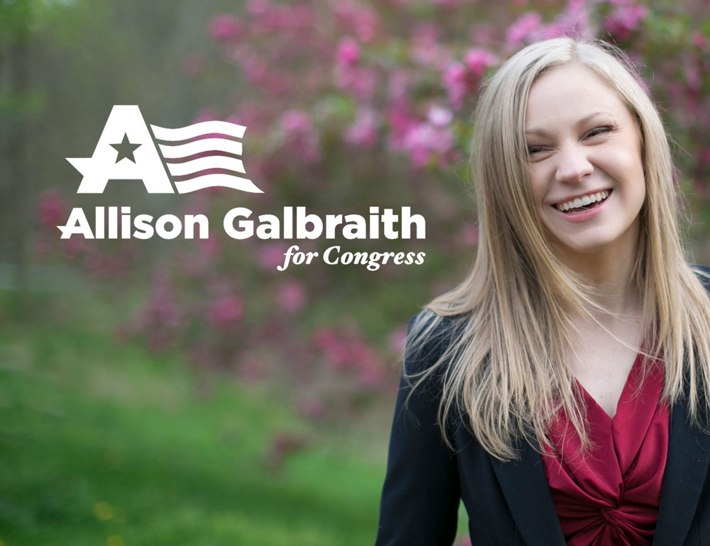 Fueled by Frustration, Solo Mom Allison Galbraith Is Running for Congress