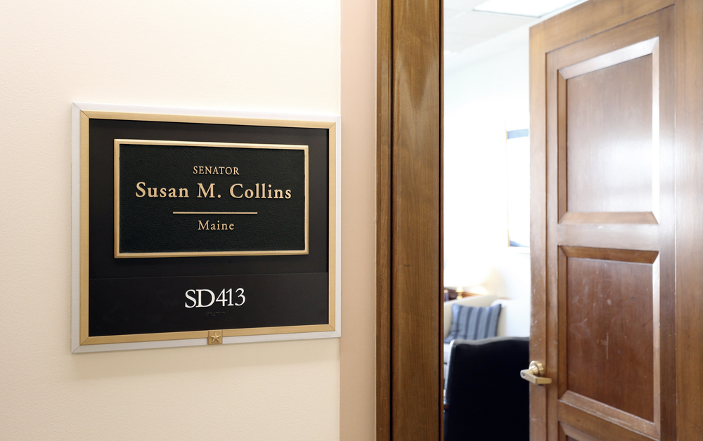 Senator Susan Collins: Time Out