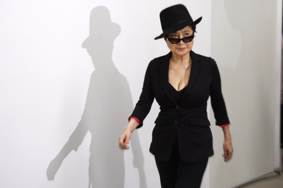 Yoko Ono: Comfortable in Her Own Skin