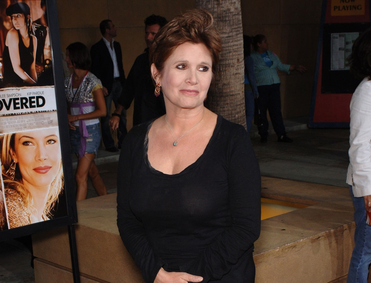 Carrie Fisher: Approaching Tough Issues with Humor