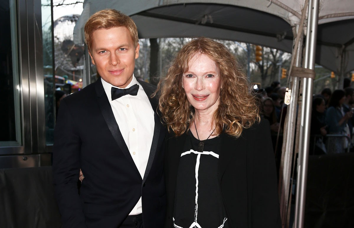 "Mia Farrow: ""Brought together by love"""