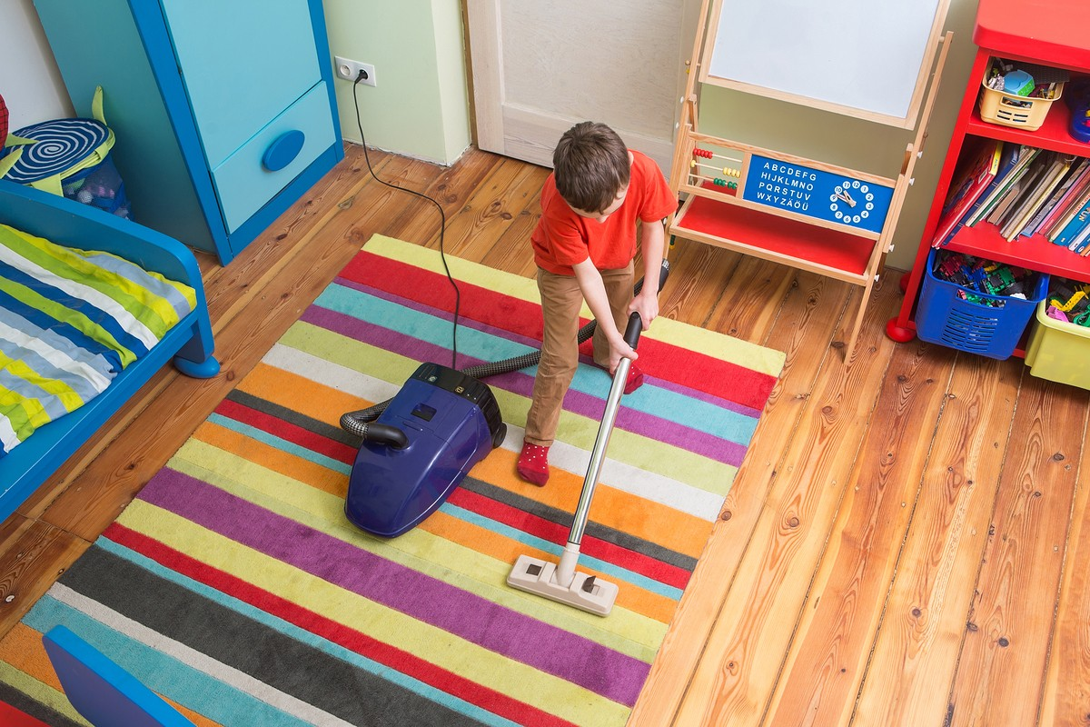Getting Kids to Clean at Any Age