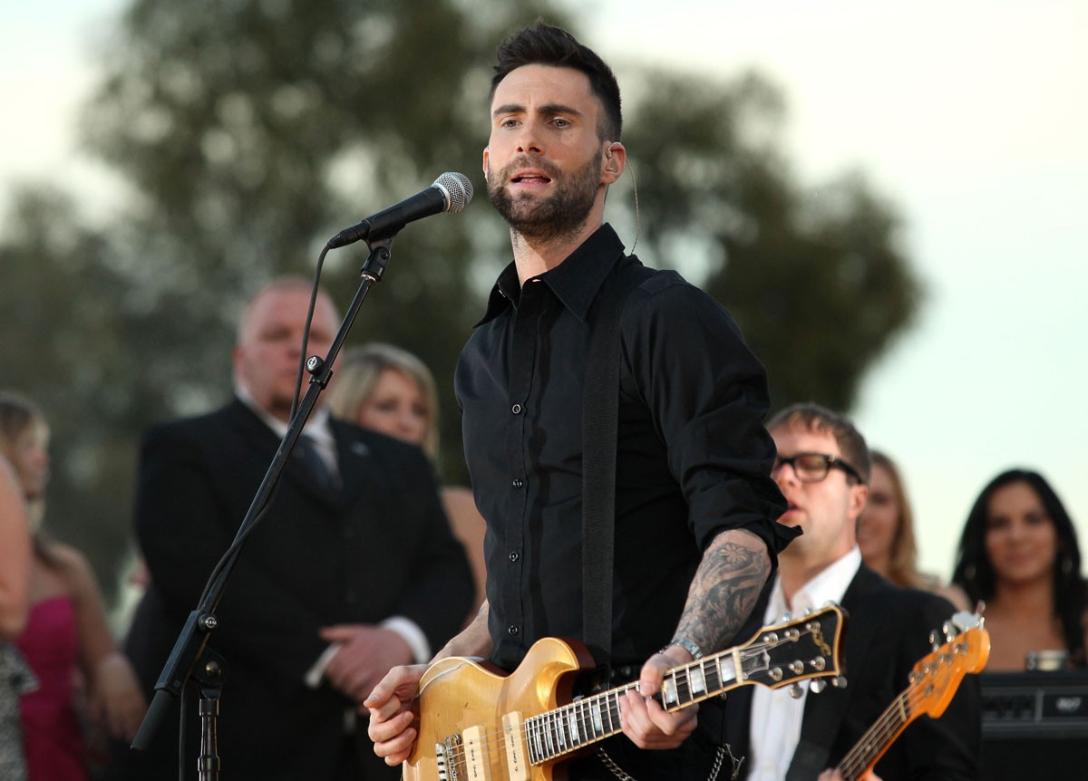 Adam Levine: Loves His Solo Mom Roadie
