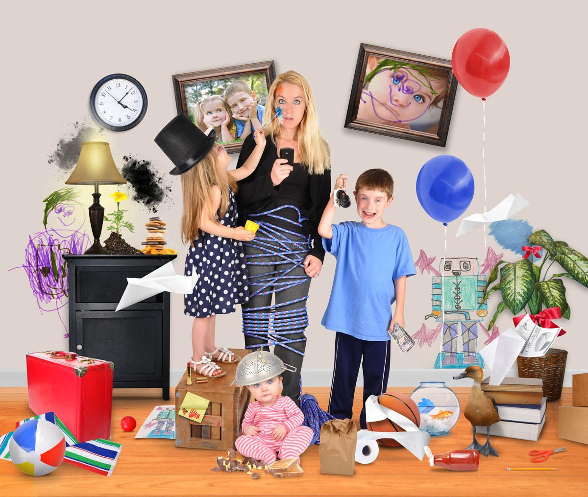 Coping Without Child Care During the Holidays