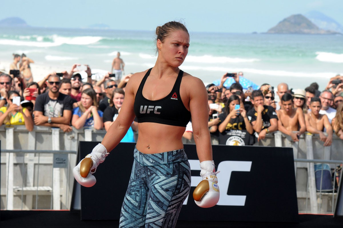 Ronda Rousey: The Instinct to Survive