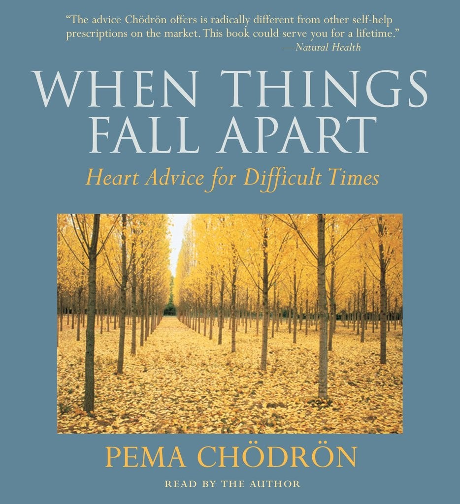 "Book Review: ""When Things Fall Apart"" by Solo Mom, Pema Chödrön"