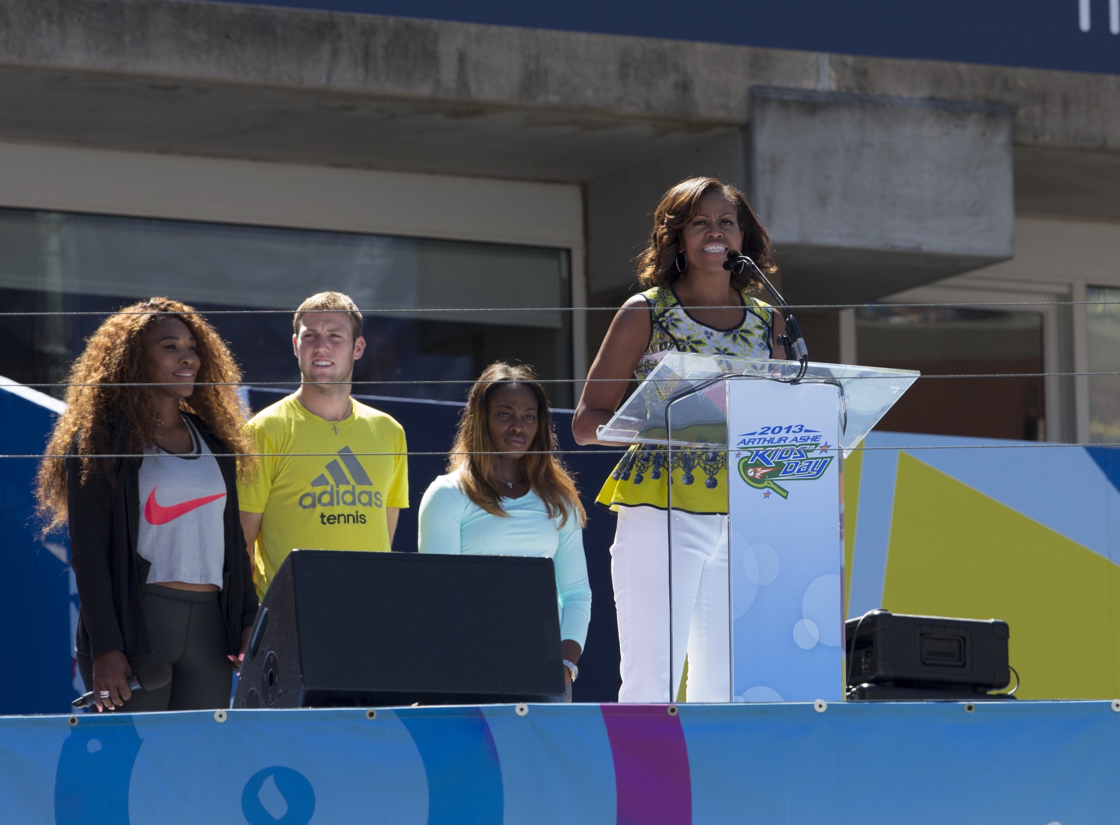 Attention, Solo Moms: First Lady Promotes Let's Move! Child Care