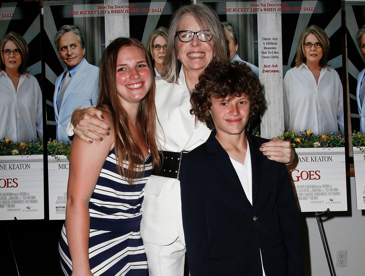How Adoption Made Diane Keaton a Better Person