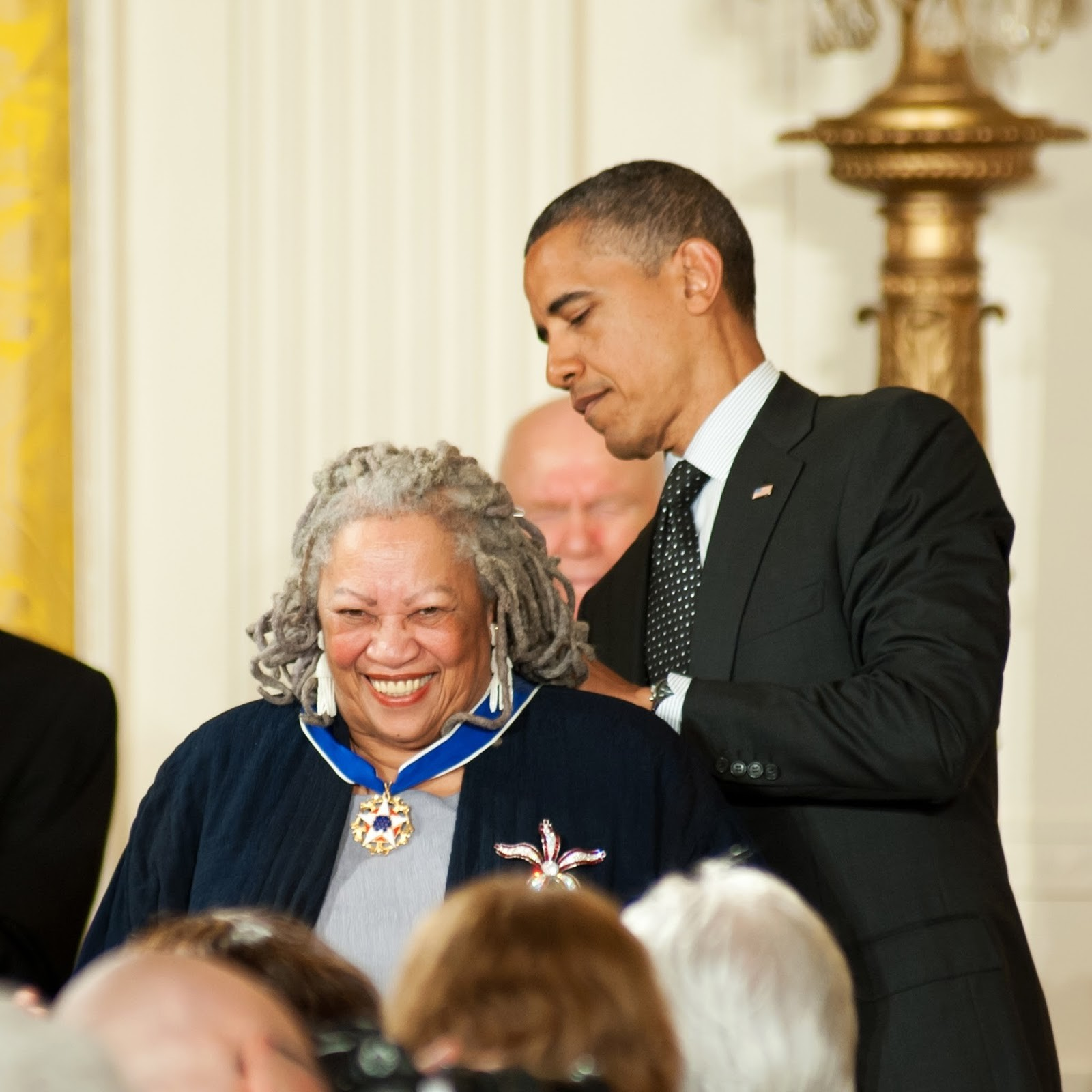 Toni Morrison Keeps Her Children Close