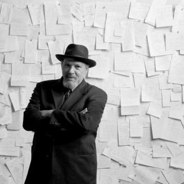 """August Wilson, playwright of the Huntington Theatre Company's production of """"Fences."""" Part of the 2009-2010 season—ESME.com"""
