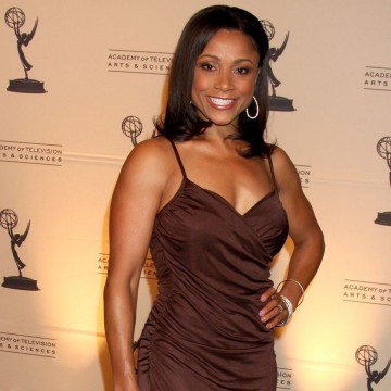 Dominique Dawes arriving at the 4th Annual Academy of Television Arts & Sciences Honors—ESME.com