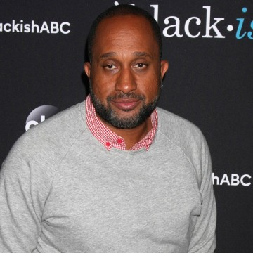 "Kenya Barris at the ""black-ish"" ATAS event at the Silver Screen Theater in Los Angeles—ESME.com"