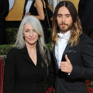 Jared Leto and mother Constance Leto at the 20th Annual Screen Actors Guild Awards at the Shrine Auditorium.—ESME.com