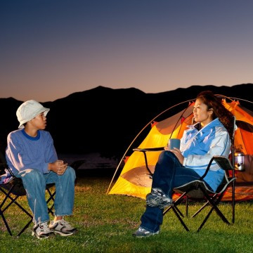 A family camping in the mountains—ESME.com