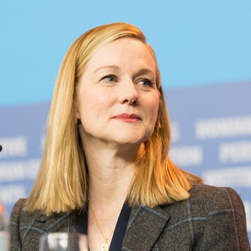 Laura Linney, an actress raised by a Solo Mom, attends the 65th Berlinale International Film Festival in Berlin—ESME.com