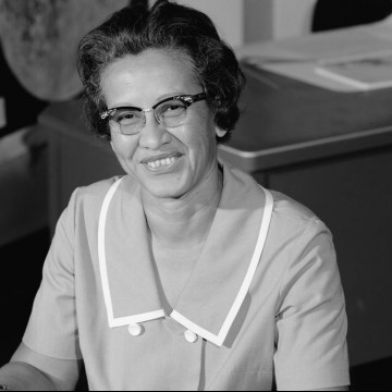 Katherine Johnson, NASA employee, mathematician, and physicist, in 1966—ESME.com