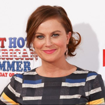 "Actress and Solo Mom Amy Poehler attends the ""Wet Hot American Summer: First Day of Camp"" series premiere—ESME.com"