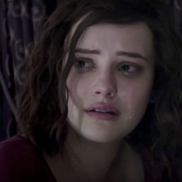 "Screen grab from Netflix original ""13 Reasons Why,"" a contrived and irresponsible take on teen suicide—ESME.com"