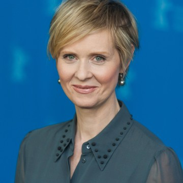 "Actress Cynthia Nixon attends the ""A Quiet Passion"" photo call during the 66th Berlinale International Film Festival—ESME.com"