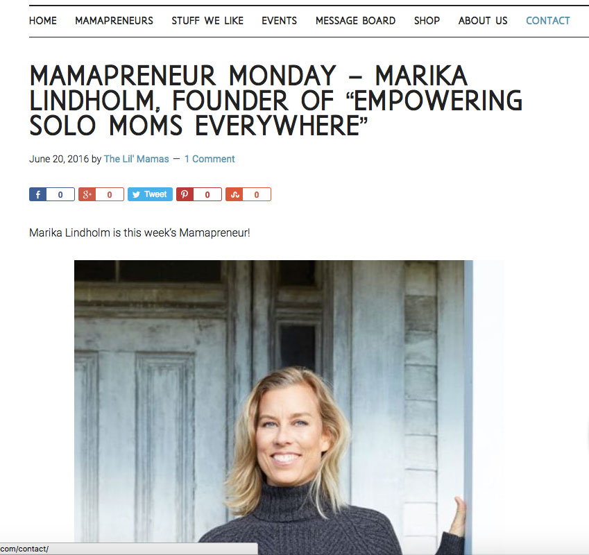 https://thelilmamas.com/mamapreneur-monday-marika-lindholm-founder-of-empowering-solo-moms-everywhere/