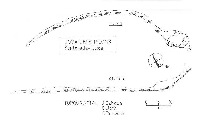 topo Cova dels Pilons