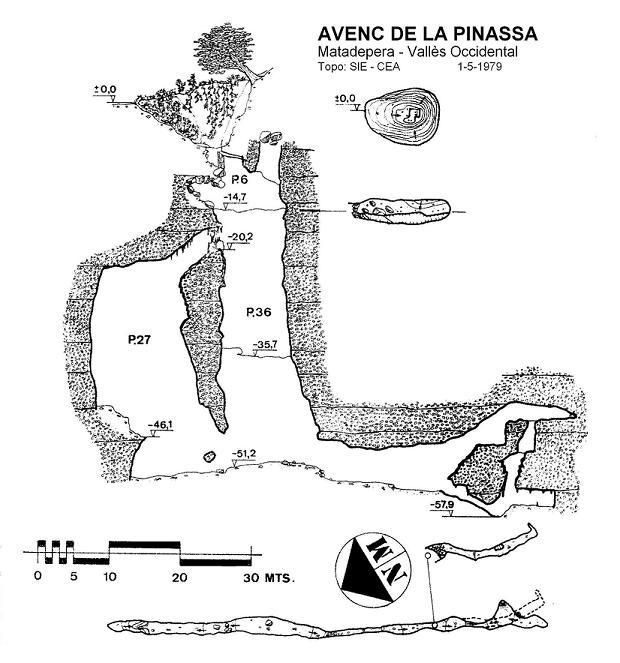 topo Avenc de la Pinassa