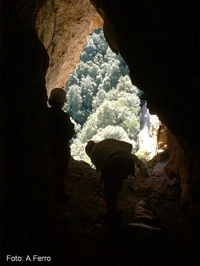 foto Cova de la Canal del Boc