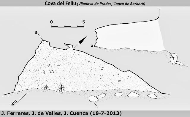 topo Cova del Feliu