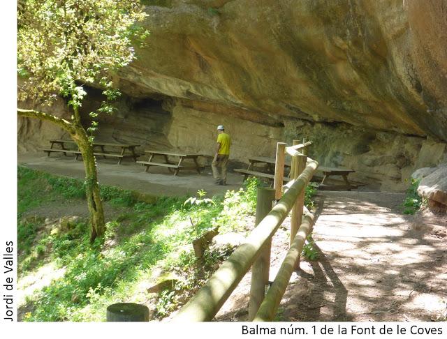foto Balma Nº1 de la Font de les Coves