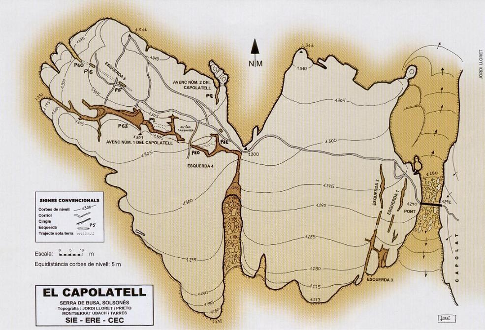 topo Avenc Nº2 del Capolatell