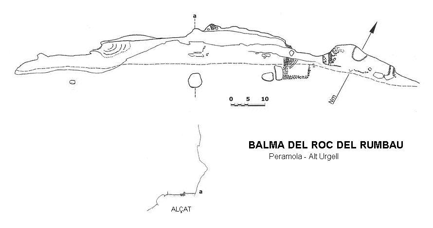 topo Balma del Roc del Rumbau