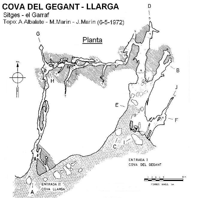 topo Cova del Gegant-llarga