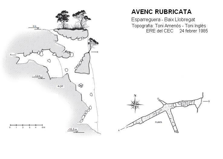 topo Avenc Rubricata