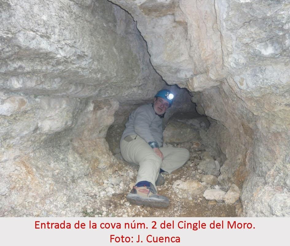 foto Cova Nº2 del Cingle del Moro