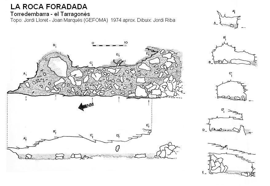 topo la Roca Foradada
