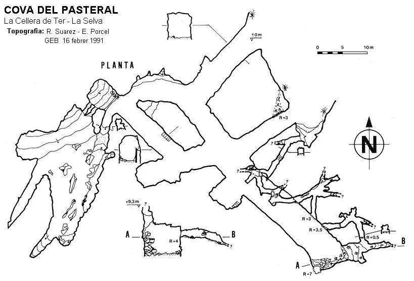 topo Cova del Pasteral