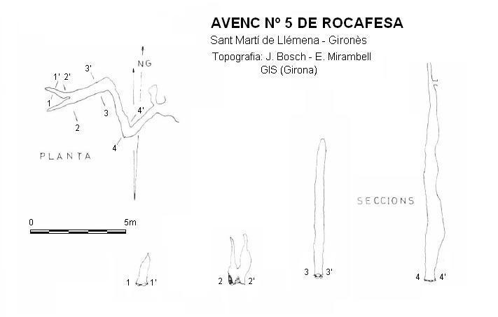 topo Avenc Nº5 de Rocafesa