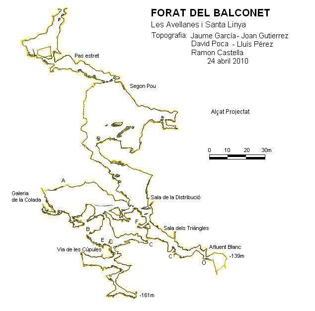 topo Forat del Balconet