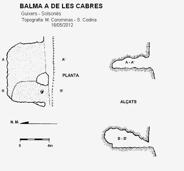 topo Balma a de les Cabres