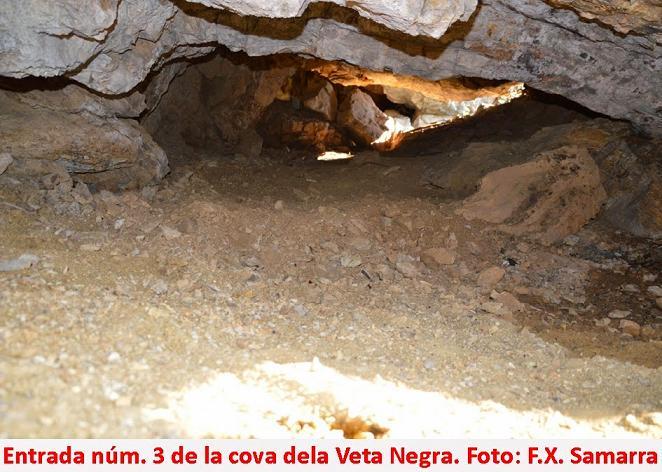 foto Cova de la Veta Negra