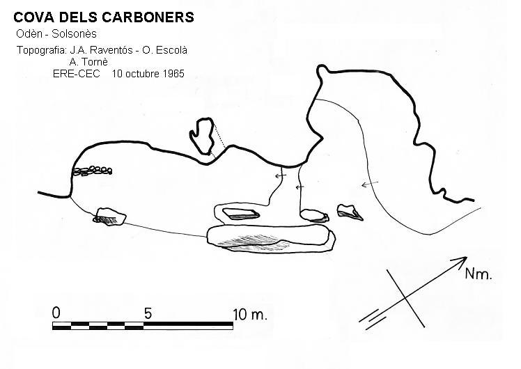 topo Cova dels Carboners