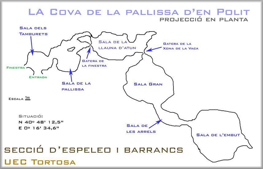 topo Cova del Moreno