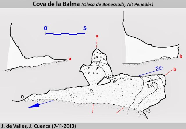 topo Cova de la Balma