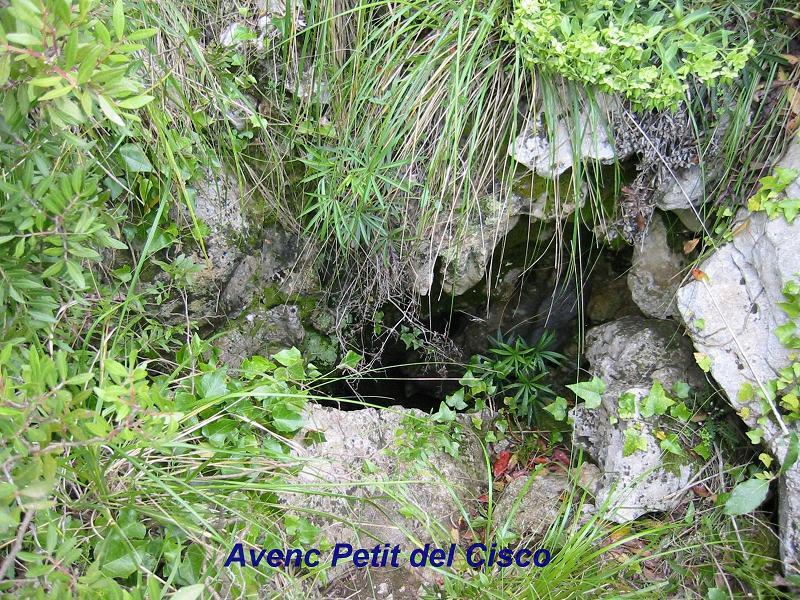 foto Avenc Petit del Cisco