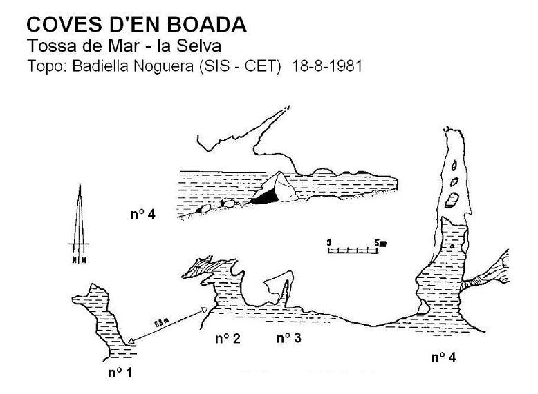 topo Cova Nº4 d'en Boada
